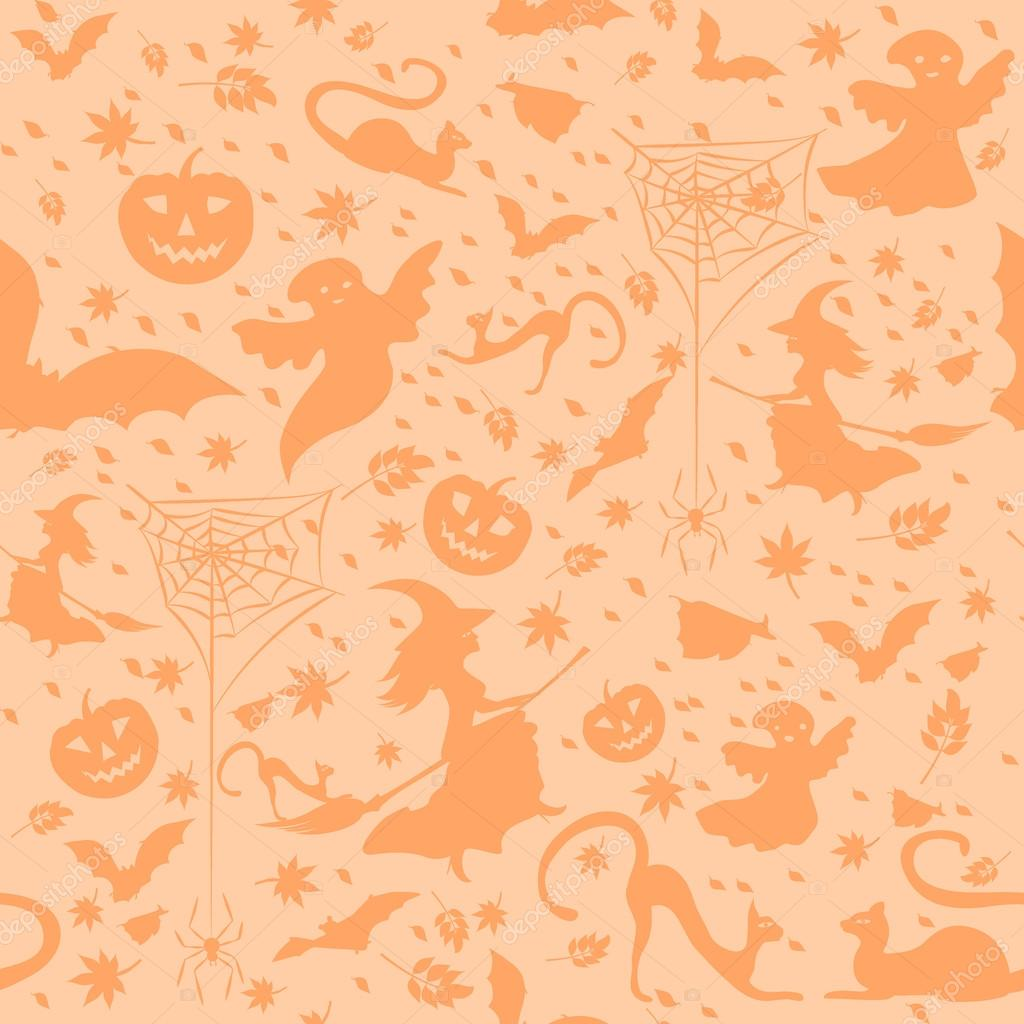 light halloween background