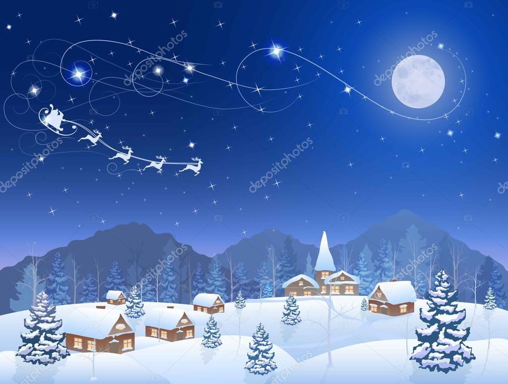 christmas blue planet
