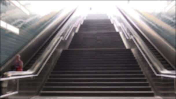 Treppen in die u-Bahn-Städte