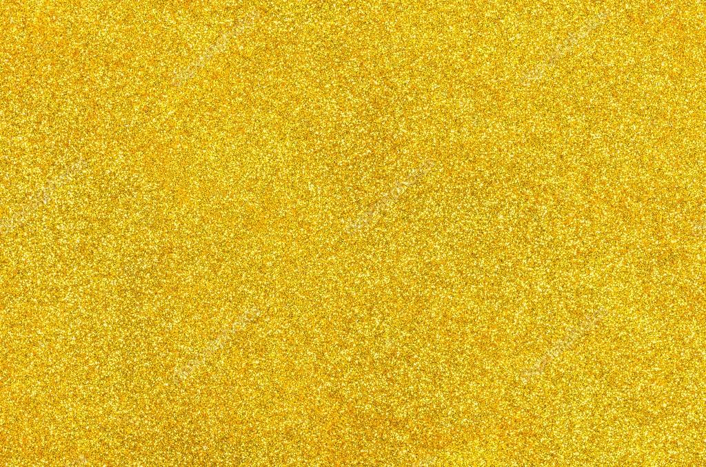 Golden Background With Glitter