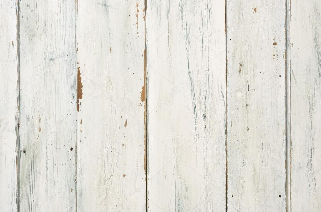 Rustic White Wooden Background Stock Photo