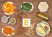 Vitamin E, potraviny obsahující