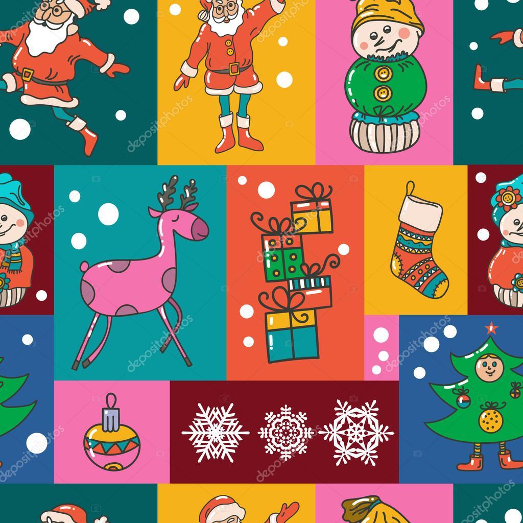 Invitaciones De Navidad Infantiles Patrón De Navidad