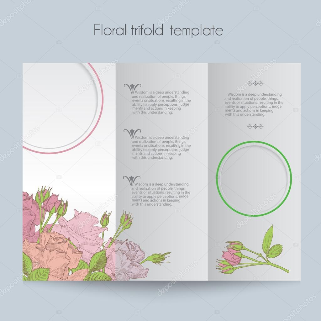 menu k narozeninám Květinové Růže šablony, trojkombinace, maketa pro brožury, menu  menu k narozeninám