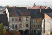 Bautzen, Deutschland - 27. Oktober: Verlassene Gebäude in Bautzen am 27. Oktober 2015 in Bautzen, Deutschland. Bautzen ist eine Bergstadt in Ostsachsen, Deutschland