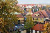 Bautzen - 27. Oktober: Panorama von Bautzen am 27. Oktober 2015 in Bautzen. Bautzen ist eine Bergstadt in Ostsachsen, Deutschland