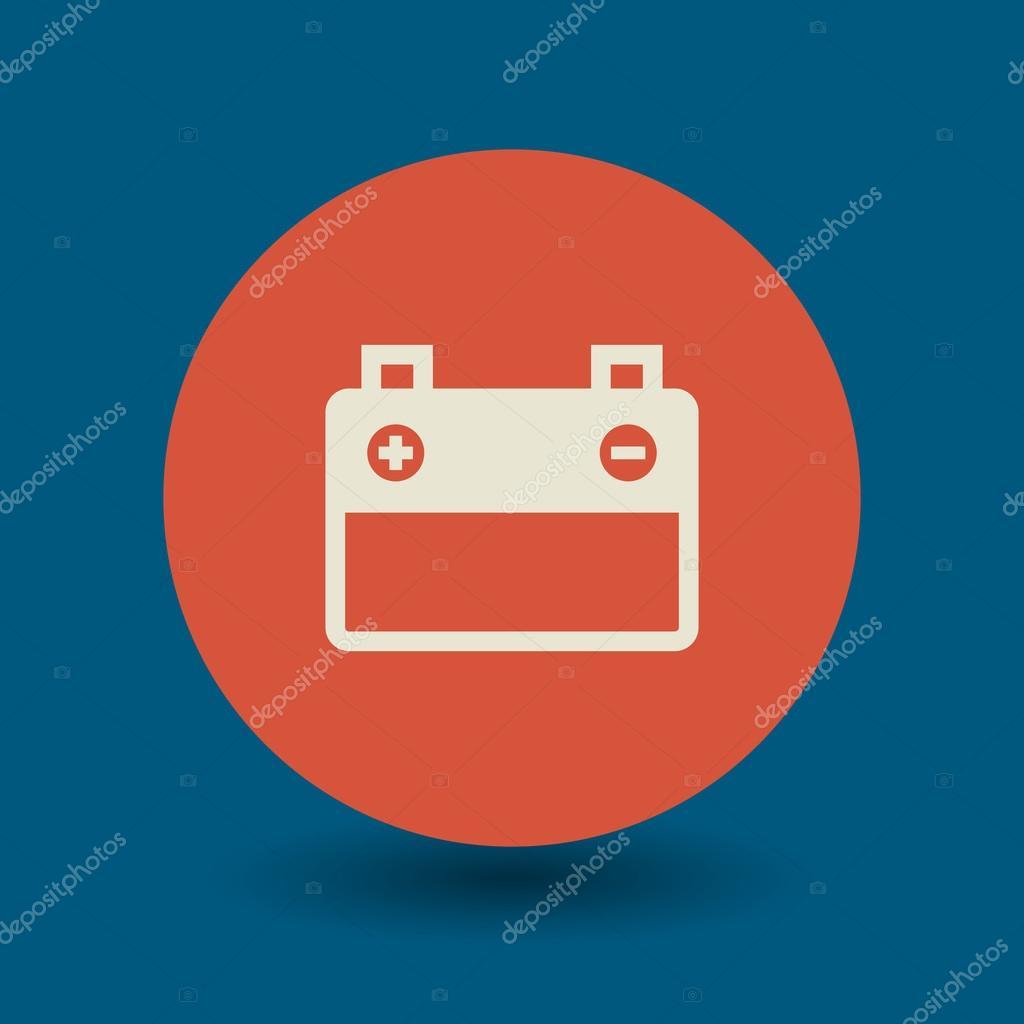 Car battery symbol — Stock Vector © _fla #61406253 for Car Battery Symbol  585eri