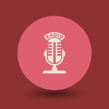 Radio microphone symbol