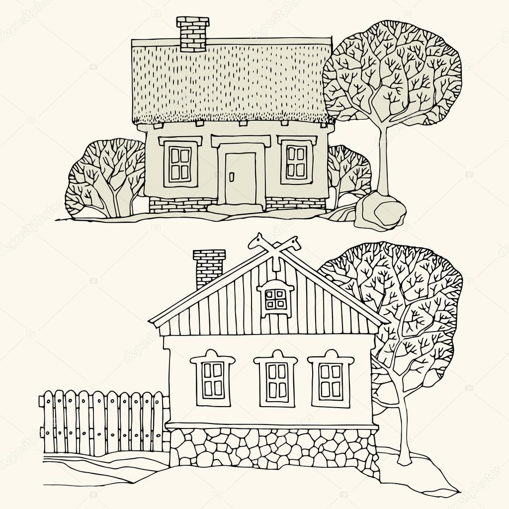 Huizen tekenen fabulous sweet with huizen tekenen for Huizen tekenen