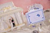 Photo Wedding book on a wedding table