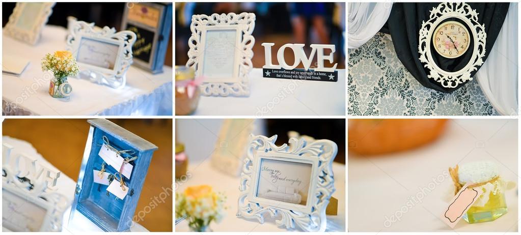 Hochzeit Bilder Collage Stockfoto C Costinc79 69374067