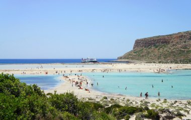 Beautiful beaches of Gramvousa