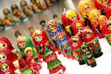 Mix of Russian Babushkas
