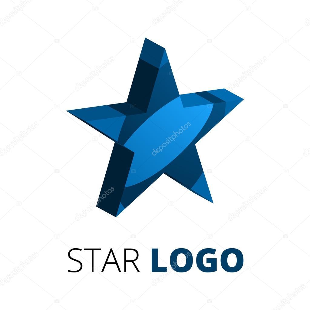 3D Sterne Logo Vorlage — Stockvektor © 123sasha #80435640