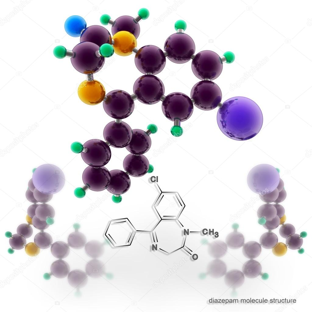 diazepam molecular mass