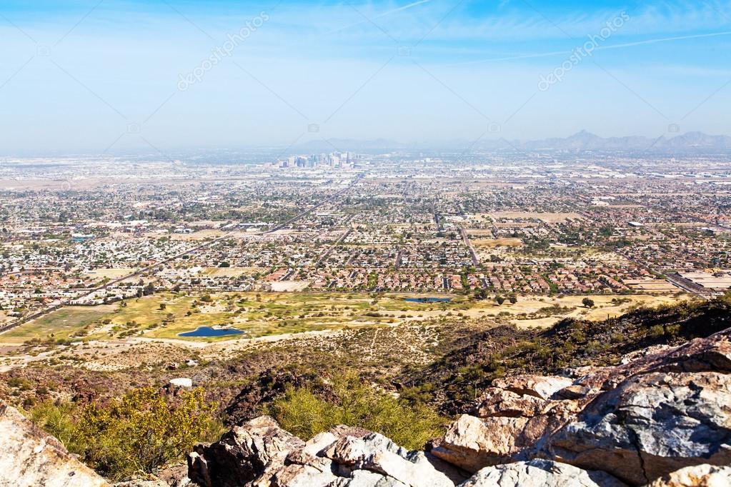 Phoenix Skyline View