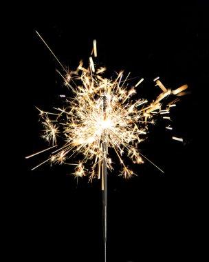 Bright lit sparkler