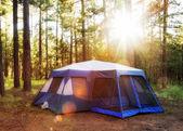 Zelt im Wald von Payson, arizona