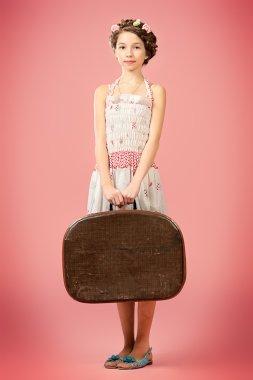rural styled. Children fashion.