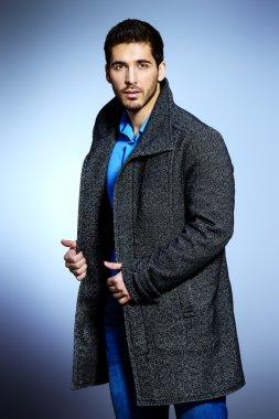 seasonal fashion. Men's beauty, fashion.