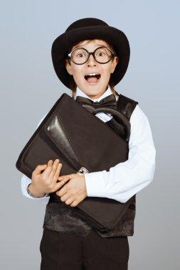 city man. Kid's fashion.