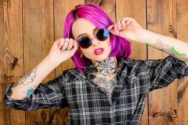 cool young woman