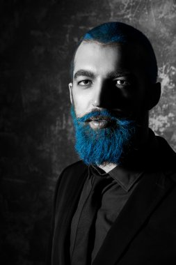 folktale hero, bluebeard.
