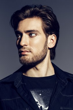 mens hairstyle. Men's beauty, fashion.