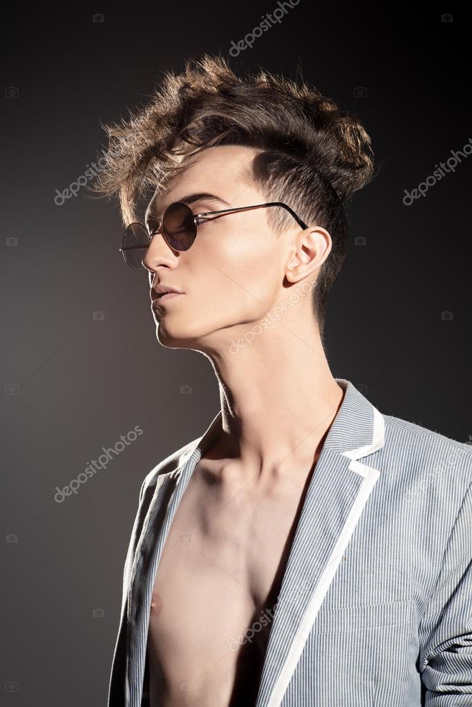 Hair Spray Male Haircuts Stock Photo Prometeus 111707956