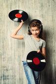 vinyl record. Generation.