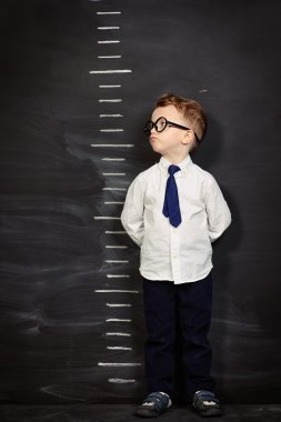 height meter. Four year old boy.