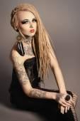 Fotografie gothic woman