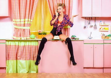 housewife pinup