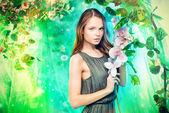 Photo fairy spring
