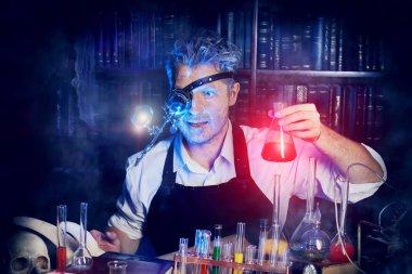 flasks scientist