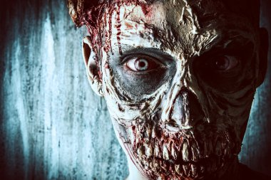 close-up zombie