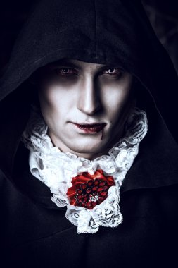 bloodthirsty vampire man