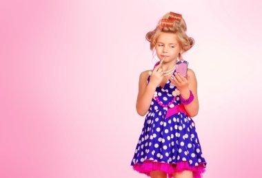 glamorous child cute