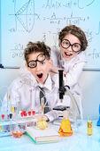 Fotografia entusiasmo per la scienza