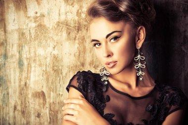 beautiful woman  Fashion shot.
