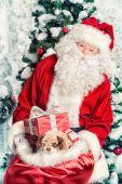 Fényképek giftboxes. Boldog karácsonyt