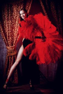 vaudeville. of cabaret.