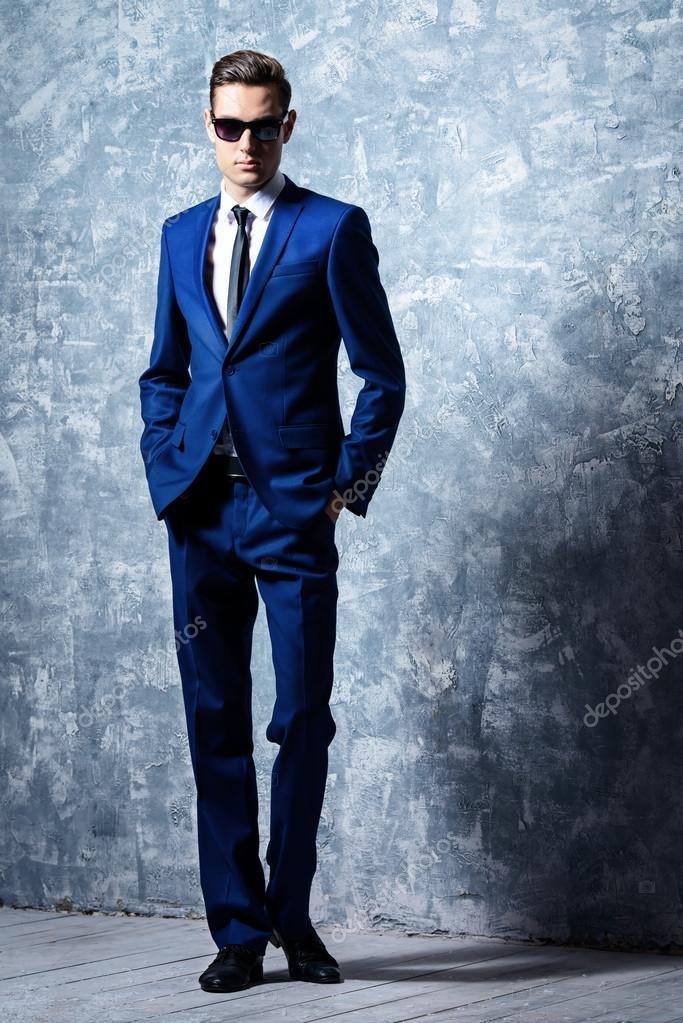 elegant tall man