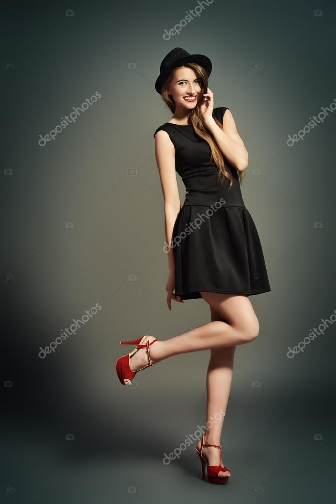 Red Shoes Hipster Style Stock Photo Prometeus 94978934