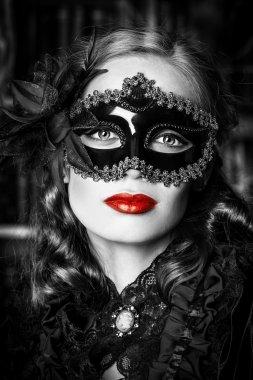 masquerade.  Halloween concept.
