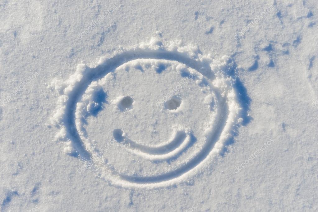 смайлики из снега картинки только акт слишком