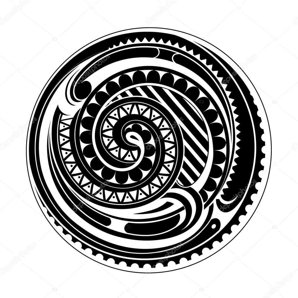 Maories Del Tatuaje Del Circulo Archivo Imagenes Vectoriales - Fotos-de-maories