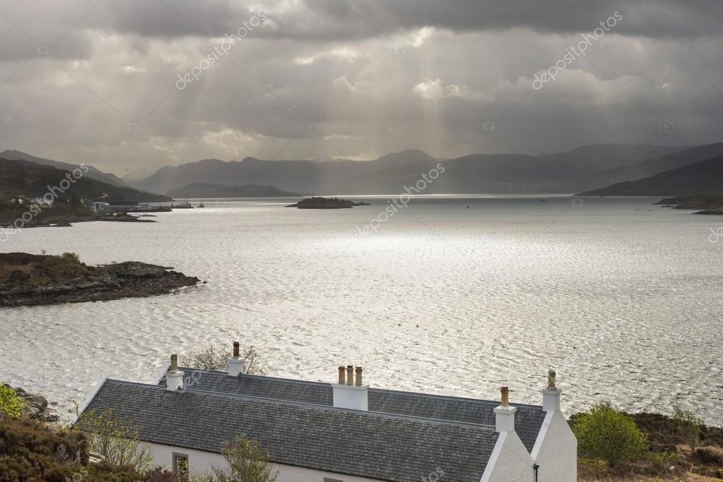 Houses, Sea and Sunbeams