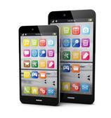 Smartphone dvě velikosti