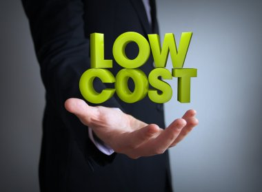 Low cost businessman